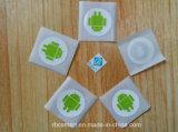 Identiteitskaart van RFID HF breekt Inlegsels NFC af van de Etiketten Ntag213 van Markeringen de Natte
