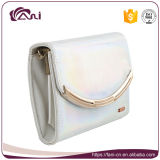 Faniの金属フレームが付いている最新の豪華な女の子の財布