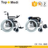 Кресло-коляска электричества Topmedi алюминиевая Folable стандартная