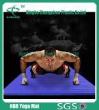Estera de alta densidad de Pilates de la yoga del ejercicio de la aptitud NBR de Hotsell NBR