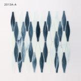 4mm Thinckness Wand-Glasmosaik-Fliese-Blätter für Verkauf