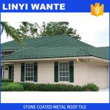Mattonelle di tetto rivestite del metallo del tetto dell'esportazione della pietra di alluminio dello strato