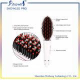 白いLCD表示の専門の毛のストレートナ