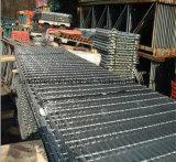 Grating van het Staal van de Bevloering van de Loopbrug van de fabriek Hete Ondergedompelde Gegalvaniseerde voor Brugdekken