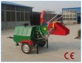 セリウムの証明書40HPのディーゼル木製の砕木機(WC-40/TH-40)、油圧挿入の360度の出力