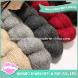 Filato di seta dell'alpaga poco costosa del Crochet di promozione di vendita di alta qualità