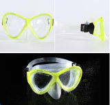 Mascherina adulta del silicone, presa d'aria di immersione subacquea della strumentazione dello scuba