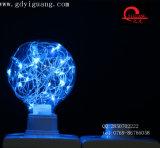 Ampoule colorée spéciale d'Edsion d'ampoule du matériau G95 de câblage cuivre d'ampoules d'étoile de Pgb DEL