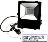 2017 l'ÉPI élevé IP65 de Bridgelux SMD de lumen de vente chaude imperméabilisent la lumière d'inondation extérieure de 200W 150W 100W 50W DEL avec du ce, certificat de RoHS