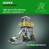Precio automático de alta velocidad de la máquina de la película plástica del PE que sopla, máquina de la protuberancia de la película que sopla