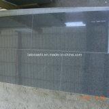 Impala Polished della Cina Nero del granito, il nero del sesamo, mattonelle G654 per il punto/colonna montante