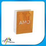Bolso de empaquetado personalizado del regalo de papel con la maneta Twisted