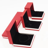 Rectángulo de joyería de empaquetado impreso insignia modificado para requisitos particulares del almacenaje (J17-E1)