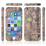 3 en 1 cubierta protectora del teléfono móvil de la PC de la cubierta de la transferencia completa del agua para el caso 360 del iPhone 6 con el vidrio Tempered