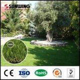 장식을 정원사 노릇을 하기를 위한 가짜 정원 잔디를 설치하게 쉬운 가정 옥상