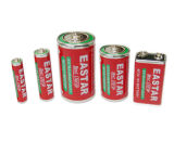 batteria eccellente del carbonio dello zinco di 9V 6f22