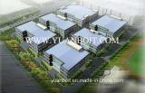 Пакгауз мастерской высокия стандарта стальной и стандартный стальной строительный материал