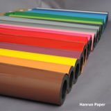 Einfacher Schnitt-klare Farben-Wärmeübertragung-Film-/Vinylbreite 50 cm-Länge 25 M für alles Gewebe