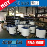 Corpo cilindrico vaporizzatore della macchina di ghiaccio del fiocco di 3 Tpd da vendere