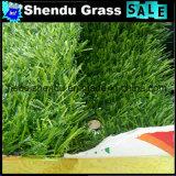 景色の人工的な草屋外の床のための25mm