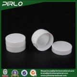 10g pp. weißes Farben-kosmetisches Plastikglas-doppel-wandiges Luxuxhaut-Sorgfalt-Sahne-Glas mit Glas des Kappen-und innerer Deckel-leerem Plastik10g