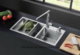 Pia de cozinha de aço inoxidável Ub53060