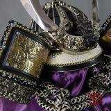 Tragbarer japanischer Samurai-Sturzhelm