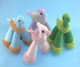 Dinosauro quattro Asst. del giocattolo di masticazione e del morso del cane
