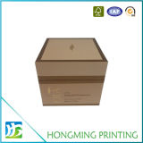 Casella impaccante del profumo di carta poco costoso stampata marchio