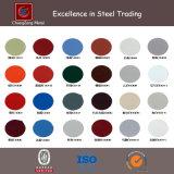 Bobine en acier au carbone revêtue en couleur laminée (CZ-C09)
