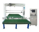 Máquina de estaca de oscilação vertical da espuma da lâmina do CNC