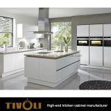 Armadio da cucina moderno della pittura di lucentezza di alta qualità di Tivoli alto