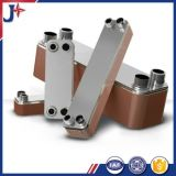 Scambiatore di calore brasato Ss316L del piatto per il compressore d'aria