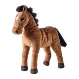 Giocattolo della peluche del cavallo farcito abitudine