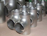 Acciaio inossidabile degli accessori per tubi dell'acciaio inossidabile che riduce T con Ce