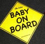 Etiqueta reflexiva feita sob encomenda do ímã do bebê a bordo para o carro