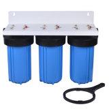 3 stadium 10 de Grote Blauwe Huisvesting van de Filter van het Water '' met de Patroon van de Filter van de Vervanging