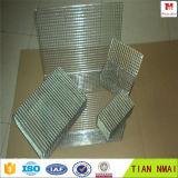 Perforada de acero inoxidable de grado 304 Esterilización Malla de alambre soldado cesta