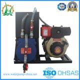 Diesel de emergencia de lucha contra incendios bomba centrífuga de la tubería con remolque