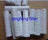 Cartouche filtrante de blessure de chaîne de caractères de PP/Cotton pour le traitement des eaux