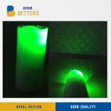 LEIDEN van de kaars Licht/het Licht van de Laser van de Kaars/Licht van de Laser van de Kaars het Groene/het Licht/de Projector van Kerstmis