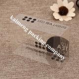 Caixa plástica de dobramento relativa à promoção da impressão do animal de estimação do pacote para a roupa