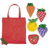 Nette Karikatur-Erdbeere-Inner-Tomate-Kartoffel Carot faltbare Einkaufstasche