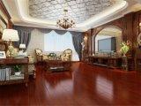 Suelo de múltiples capas rojo de madera sólida para la sala de estar