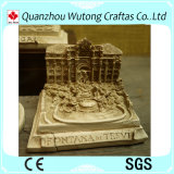 Regalo antico del ricordo della resina del modello edificio di Roma della decorazione di cerimonia nuziale