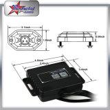 Lumières de 4/6/8/12 mini roche de Bluetooth RVB 9W DEL de cosses pour l'éclairage du camion DEL de la jeep SUV d'ATV
