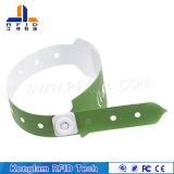Bracelet en papier synthétique RFID en couleur personnalisé pour la gestion des prisons