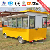 Chariot électrique de nourriture pour la vente de rue