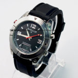 Kundenspezifische esteuerte Mens-Armbanduhr-Japan-Radiobewegung