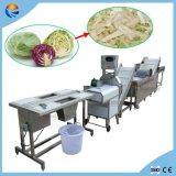Cortador multifuncional e lavador de bolhas de linha de processamento de vegetais de frutas para fábrica